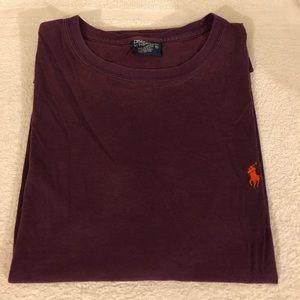 Polo Ralph Lauren Maroon T-Shirt size XL